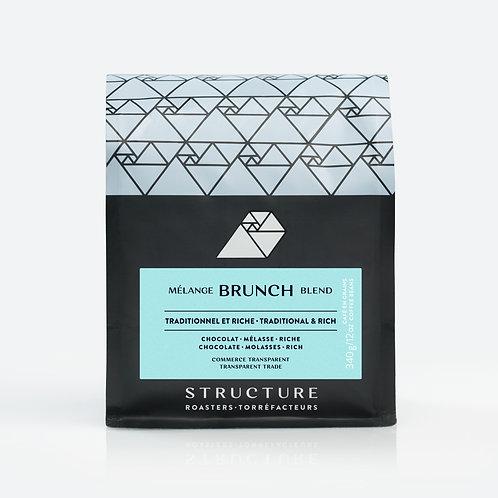 Café Brunch Blend (Espresso) - Structure Torréfacteurs