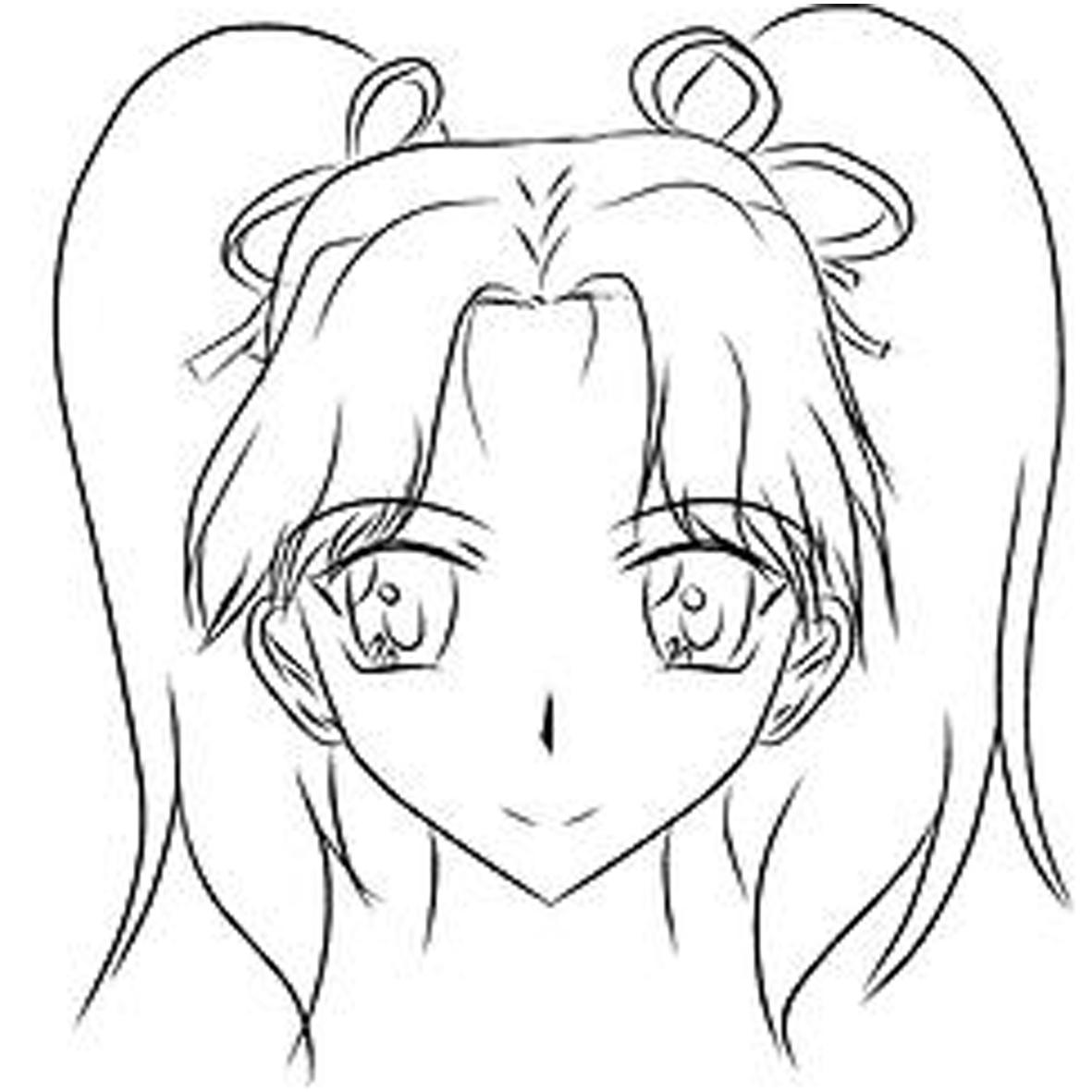 Rostro chica anime