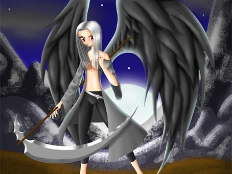 Angel Negro | Ilustración Digital