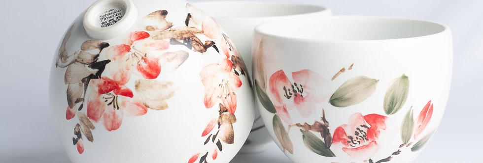 Copo Porcelana Japonesa Etsukê - ATPETK004