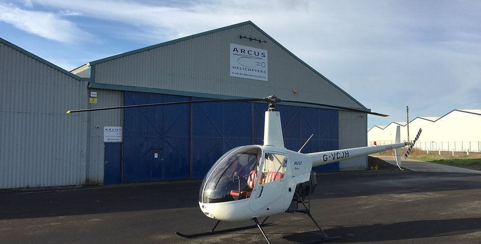 90 minute Robinson R22 Trial Lesson