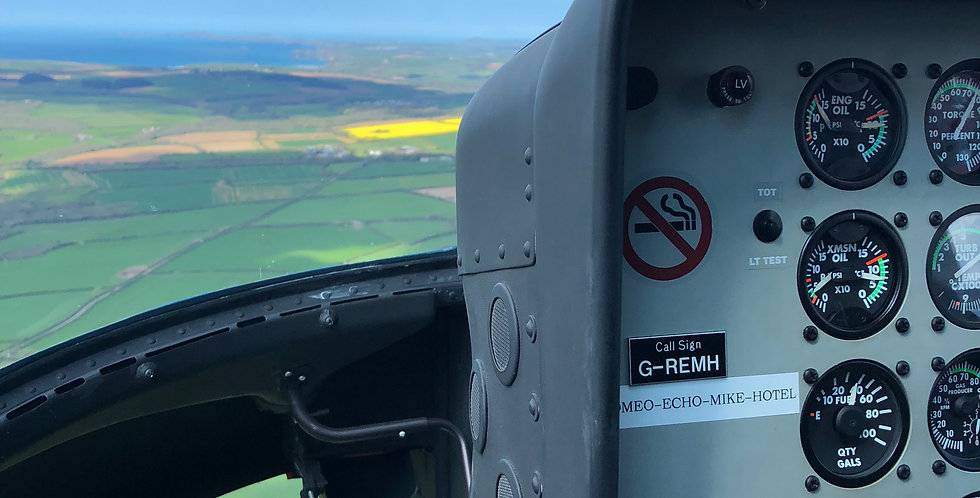25 Mile (Approx. 20 minutes) Flight from Nottingham Airport