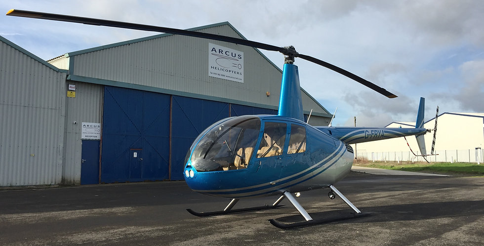 Robinson R44 Discovery Day