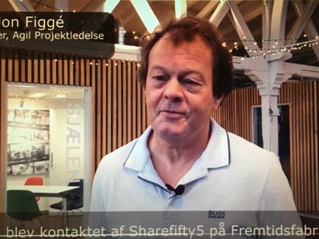 Agil Projektledelse hos ShareFifty5 på Fremtidsfabrikken
