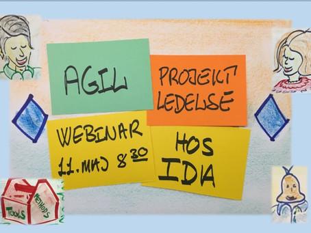 Webinar om Agil Projektledelse