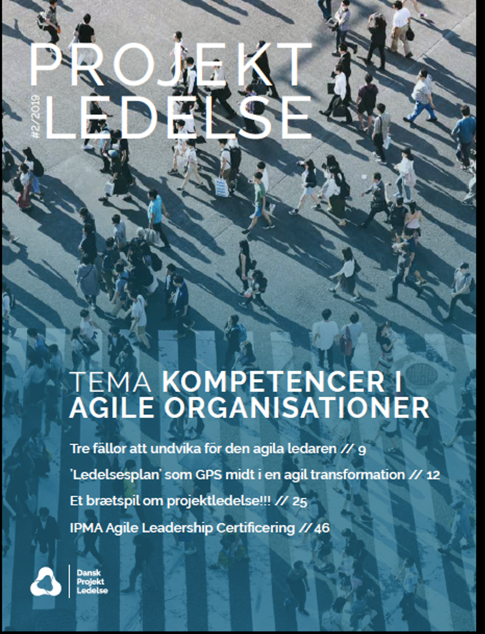 Dansk Projektledelse medlemsbladet 2019.02