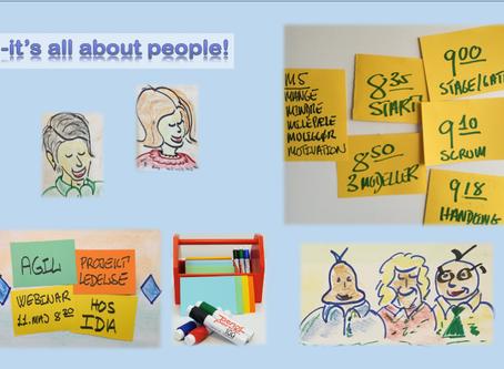 Webinar om Agil Projektledelse hos IDA med +700 deltagere!
