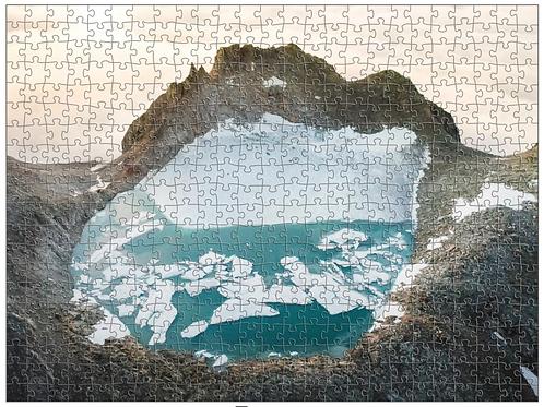 PUZZLE Gletschersee