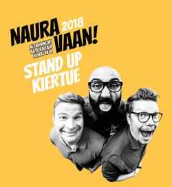 Naura vaan! Stand up -kiertue