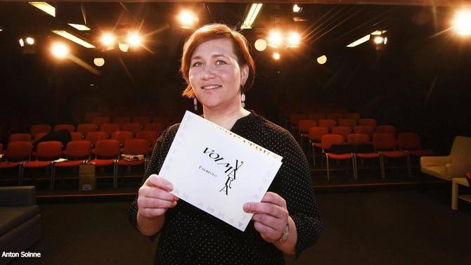 KUTin Anette Vihannolle TAM:n Voimavara-palkinto