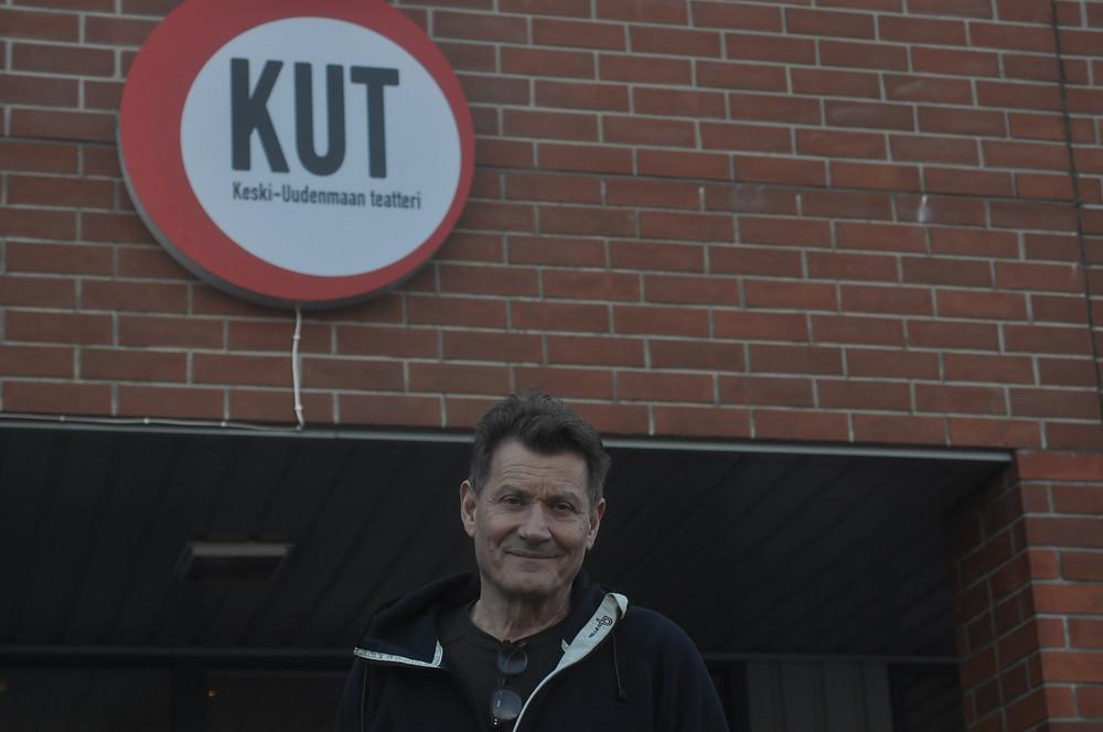 Keski-Uudenmaan teatterinjohtaja Heikki Lund on toiminut KUTin hallituksessa lähes koko KUTin 20-vuotisen taipaleen ajan.