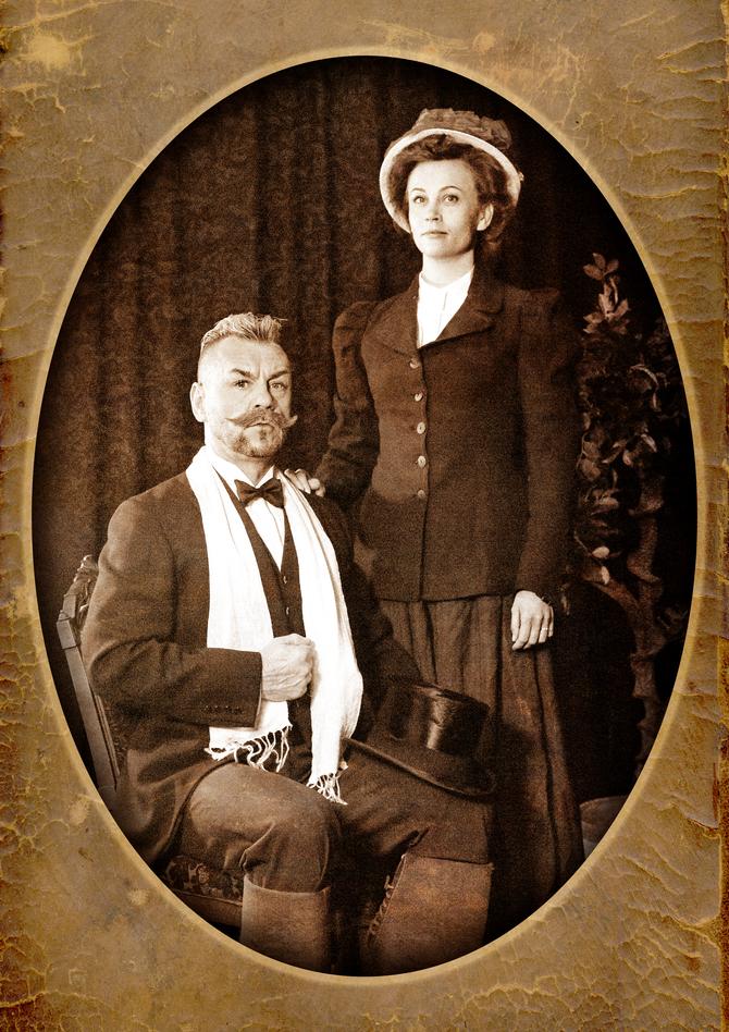 LIVESTRIIMAUS: Akseli ja Mary – kuvia taiteilijapariskunnan elämästä.