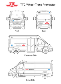 Wheel Trans Promaster 4 Side Views