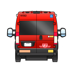 Wheel Trans Promaster - Back