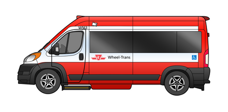 Wheel Trans Promaster - Driver Side