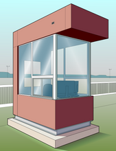 Yard Control Booth (Outside)