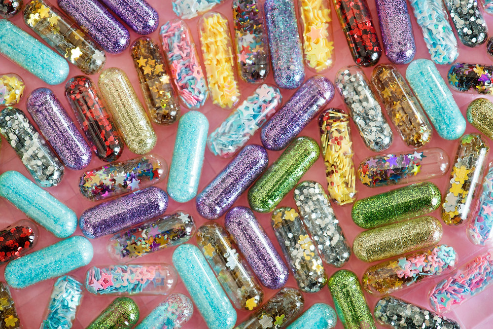 Glitter Capsules