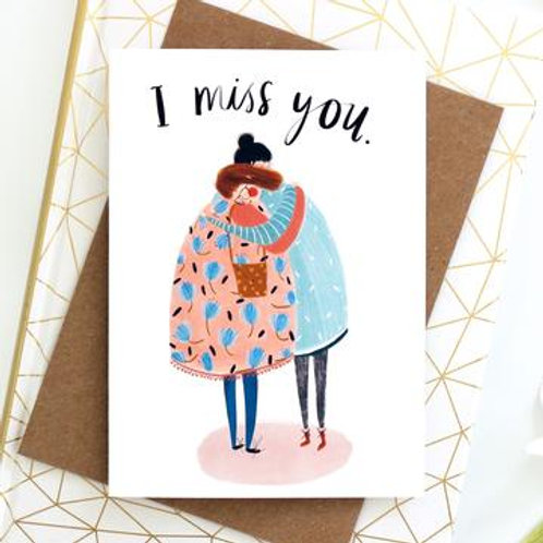 I miss you by Katy Pillinger