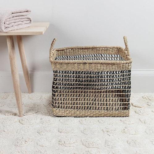 Open Weave Seagrass Basket