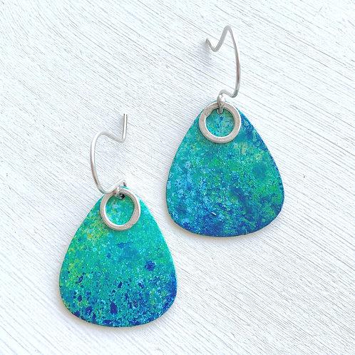 Turquoise Drop Shape Earrings