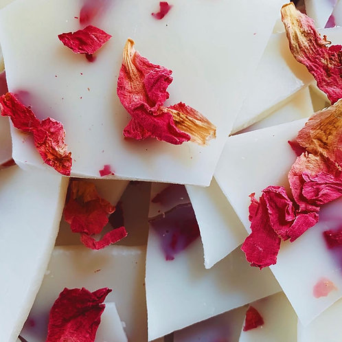 Peony with Oud Wax Melt Brittle