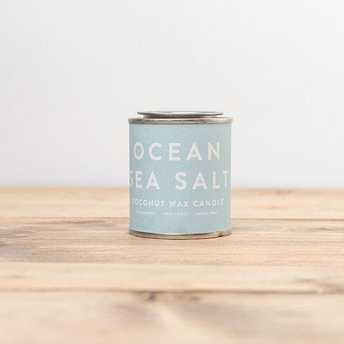 Mini Sea Salt Conscious Coconut Tin Candle