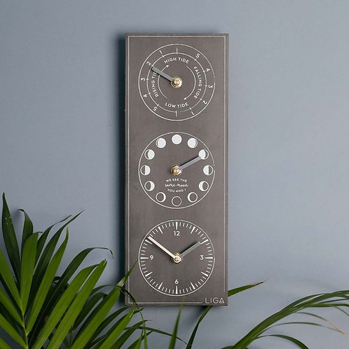 Time, Tide and Moon Clock