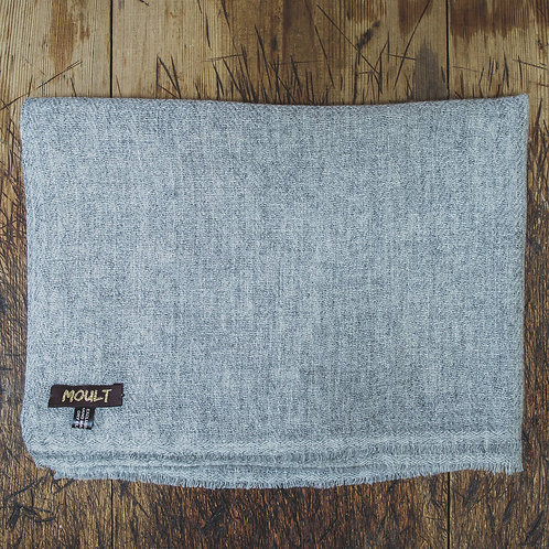 Soft Grey Scarf by Moult
