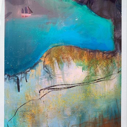 'The Cove' Print by Keri Valentine
