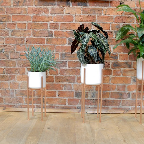 Copper Plant Pot Stand (Small Only)