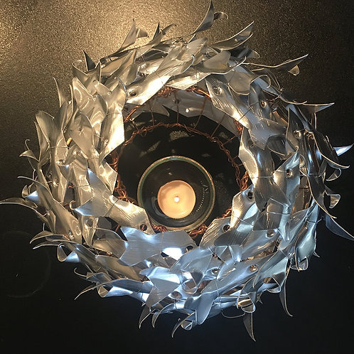 Tiny Fish Shoal Sculpture Table Top
