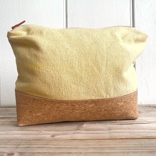 Cork & Organic Toiletry Bag