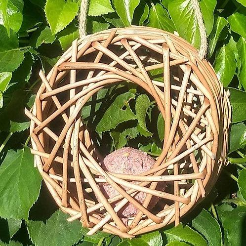 Willow Bird Feeder by Geraldine Rennie