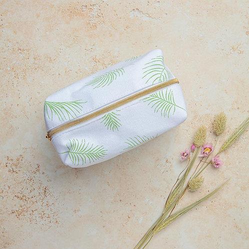 Botanical Leaf Pouch Bag
