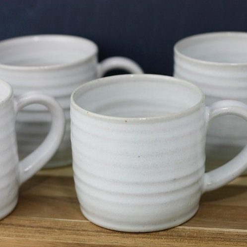 Hand Thrown Cornish Pottery Mug by Natalie Bonney