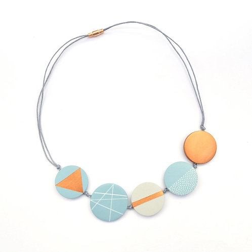 SCANDI COPPER FLAT NECKLACE