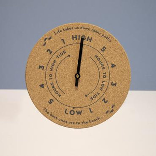 Eco Beach Cork Tide Clock