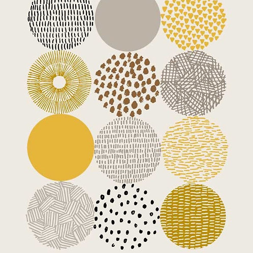 Circles - Giclée Print (Frame not included)