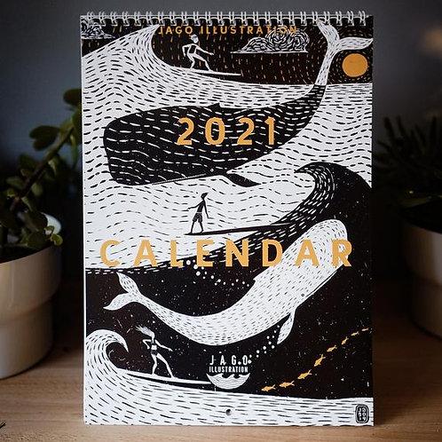 Calendar 2021 by Jago Silver