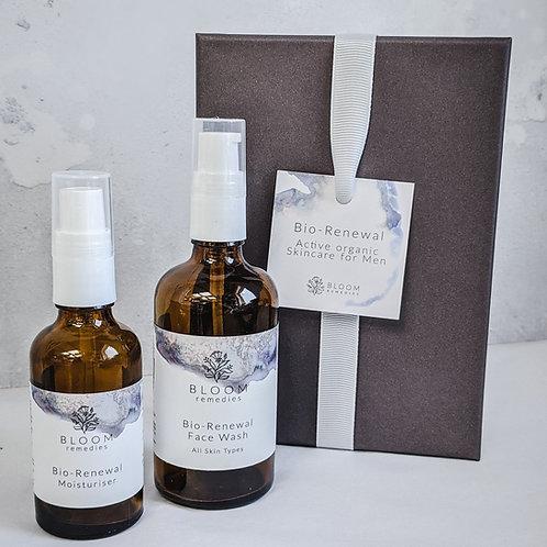 Mens Organic Skin Care Gift Set