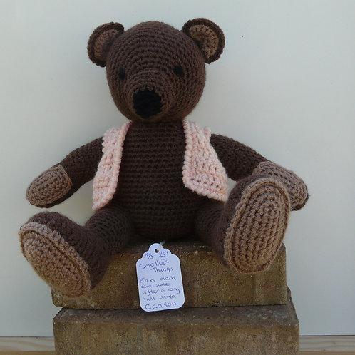 'Cadson Brown'  Amigurumi Crochet Bear
