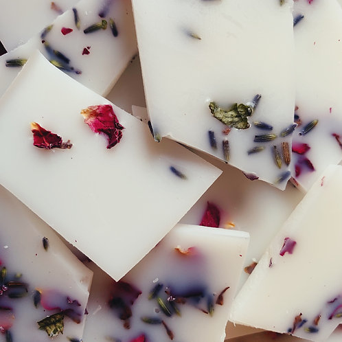 Rose & Lavender Wax Melt Brittle