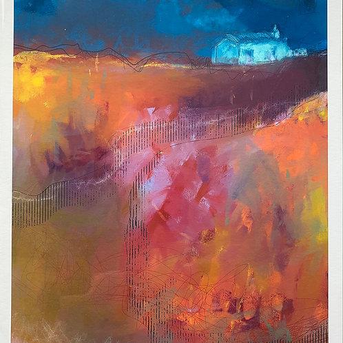 'Weather' Print by Keri Valentine