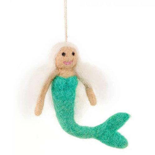 Handmade Needle Felt Meg The Mermaid