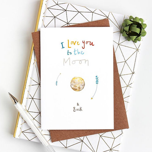 Love you to the Moon by Katy Pillinger