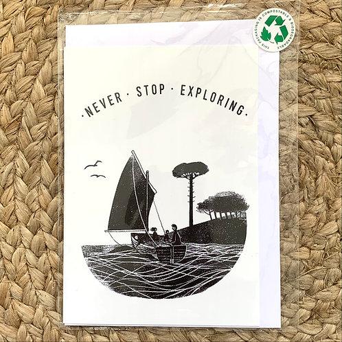 Jago Silver greeting card