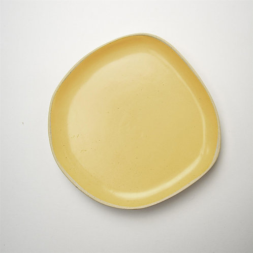 ​​​​​​​Sunshine Yellow Side Plate or larger Dinner Plate. £9.50/ £12