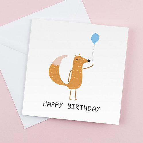 Happy Birthday - Fox