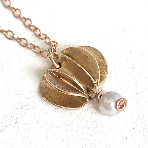 Gold Waves Necklace
