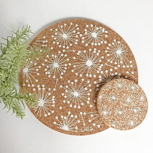 Dandelion Cork Placemat